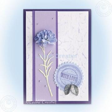 Afbeeldingen van Multi die Carnation & Stamp