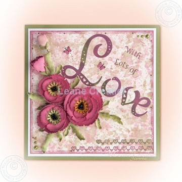 Afbeeldingen van Poppy Multi die & Clearstamp