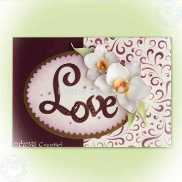 Afbeeldingen van Orchid Multi die & Clearstamp