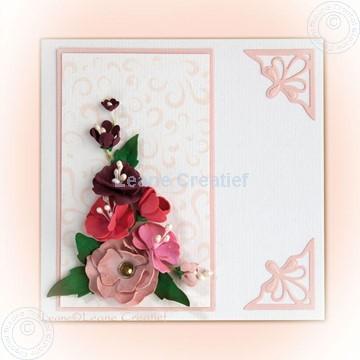 Afbeeldingen van Flower Foam set 5 flowers