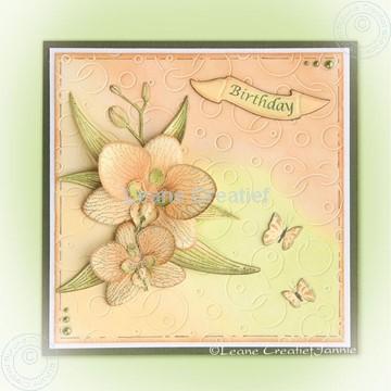 Afbeeldingen van Orchid Multi die & stamp