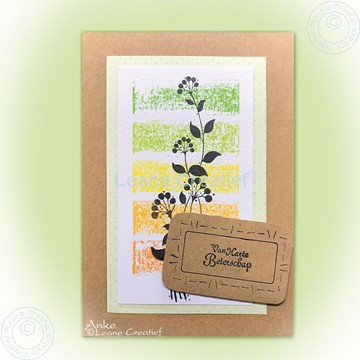 Afbeeldingen van Flower swirls stamp