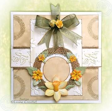 Afbeeldingen van Voorjaarskrans met bloemen