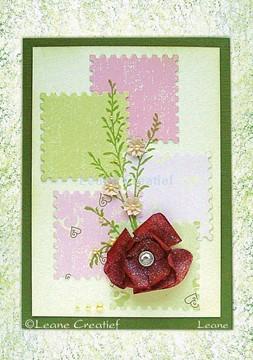 Afbeeldingen van Twig with silk flower
