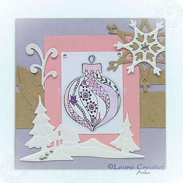Afbeeldingen van Doodle Christmas ornament