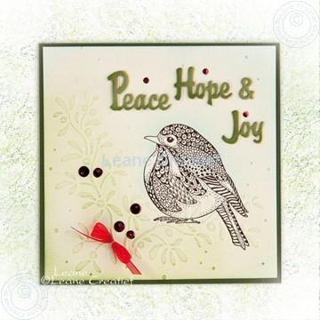 Afbeeldingen van Doodle Bird Peace, Hope & Joy
