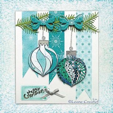 Afbeeldingen van Doodle stamp Christmas Ornament