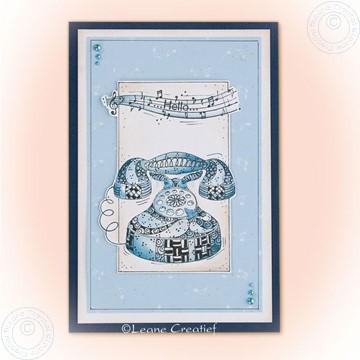 Afbeeldingen van Doodle stamp Telephone