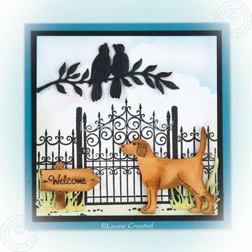 Afbeeldingen van Combi stamp Garden gate