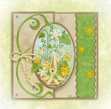 Afbeeldingen van Daffodil & Swirls