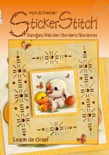 Bild von Mylo & Friends® StickerStitch® Ränder