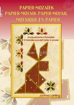 Picture of Paper mosaic and embroidery cards