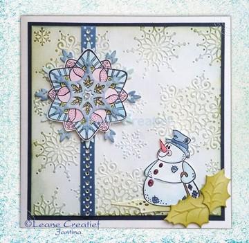 Bild von Snow Crystal background
