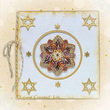 Bild von Doodle Sterne in sepia Töne