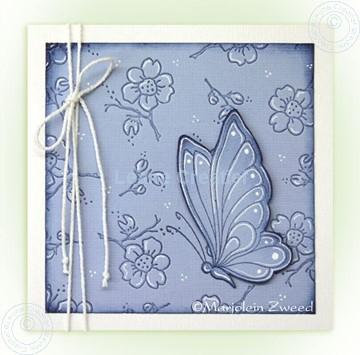 Afbeeldingen van Doodle butterfly even anders....