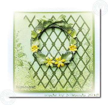 Image de Wreath with flowers large