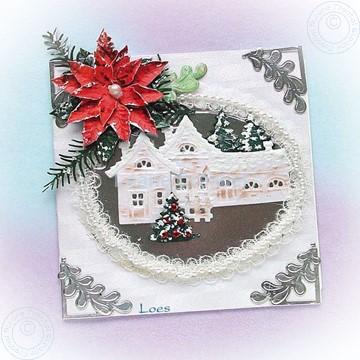 Image de Winter white village