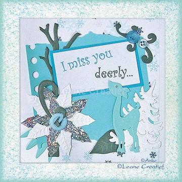 Afbeeldingen van I miss you deerly.....