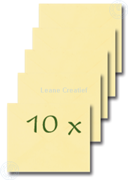 Bild von Briefumschläge 15x18cm gelb