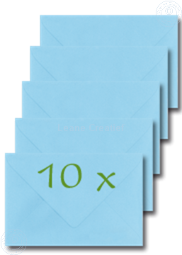 Picture of Envelopes 12x17,5cm light blue