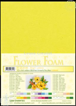 Afbeeldingen van Flower foam A4 sheet bright yellow