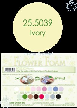 Picture of Flower foam A4 sheet ivory