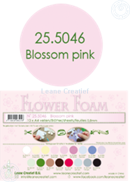 Picture of Flower foam A4 sheet blossom pink