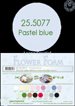 Afbeeldingen van Flower foam A4 sheet pastel blue