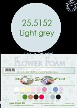 Picture of Flower foam A4 sheet light grey