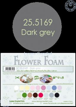 Afbeeldingen van Flower foam A4 sheet dark grey