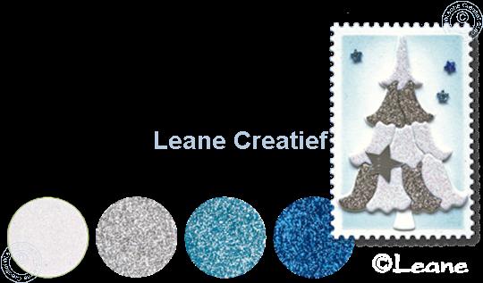 Picture of Glitter Foam set 3 blue/white/silver