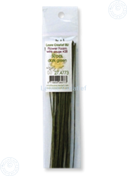 Image de paper wrapped wire #28 dark green