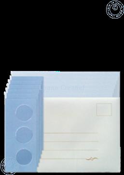 Bild von Karten Packung Tri-O Karten blau/dunkel blau