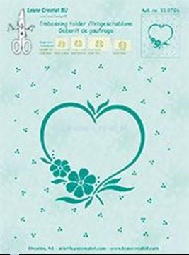 Afbeeldingen van Frame blossom heart