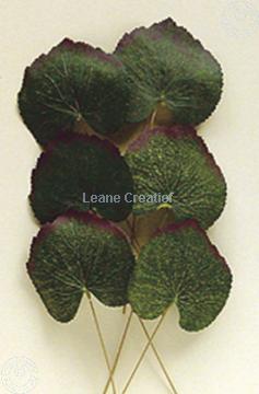 "Picture of LeCreaDesign® Leaves set ""begonia"""