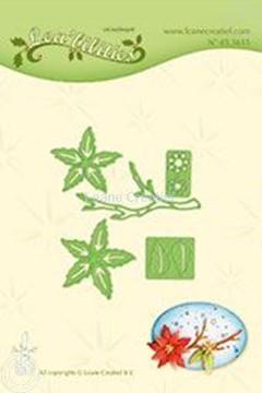 Image de Lea'bilitie Ponsettia small & branche