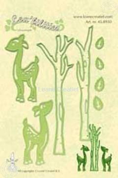 Bild von Lea'bilities deer & trees