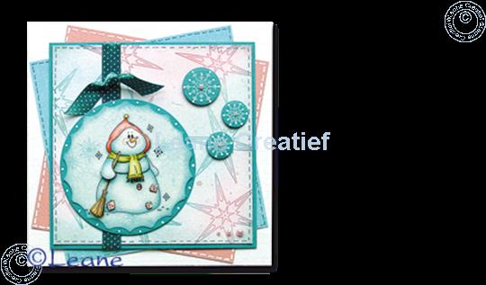 Afbeelding van Knipvel snowmen
