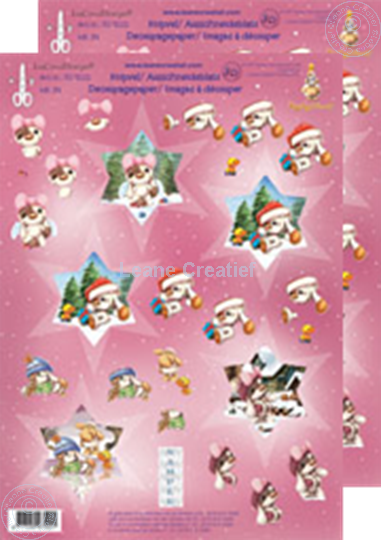 Picture of Mylo Christmas star 3D #39