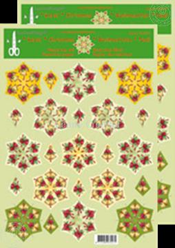 Bild von Weihnachten Rosetten Schneideblätter Glocken