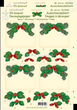 Image de Images à découper de Noël rectangle