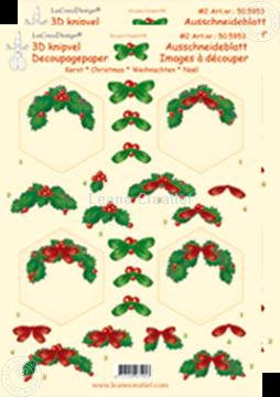 Bild von Weihnachten Ausschneideblatt Sechseck