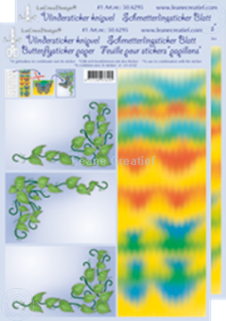 Picture of LeCreaDesign® Butterflysticker papers