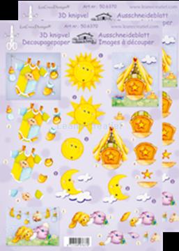 Image de LeCreaDesign® Images 3D à découper bébé