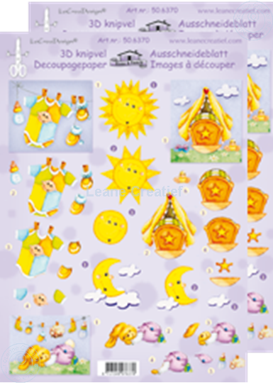 Picture of LeCreaDesign® decoupage papers baby