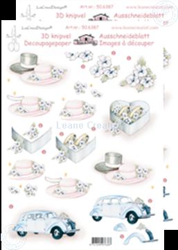 Image de LeCreaDesign® Images 3D à découper mariage