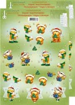 Picture of Christmasbears 3D small
