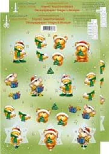 Afbeelding van Kerstbeer 3D klein