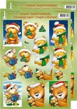 Image de Ours de Noël 3D grands