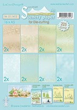 Picture of Scenery papers A5 225 grm